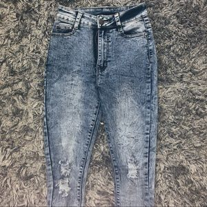 "Fashion Nova ""El Paso Distressed Jeans"""